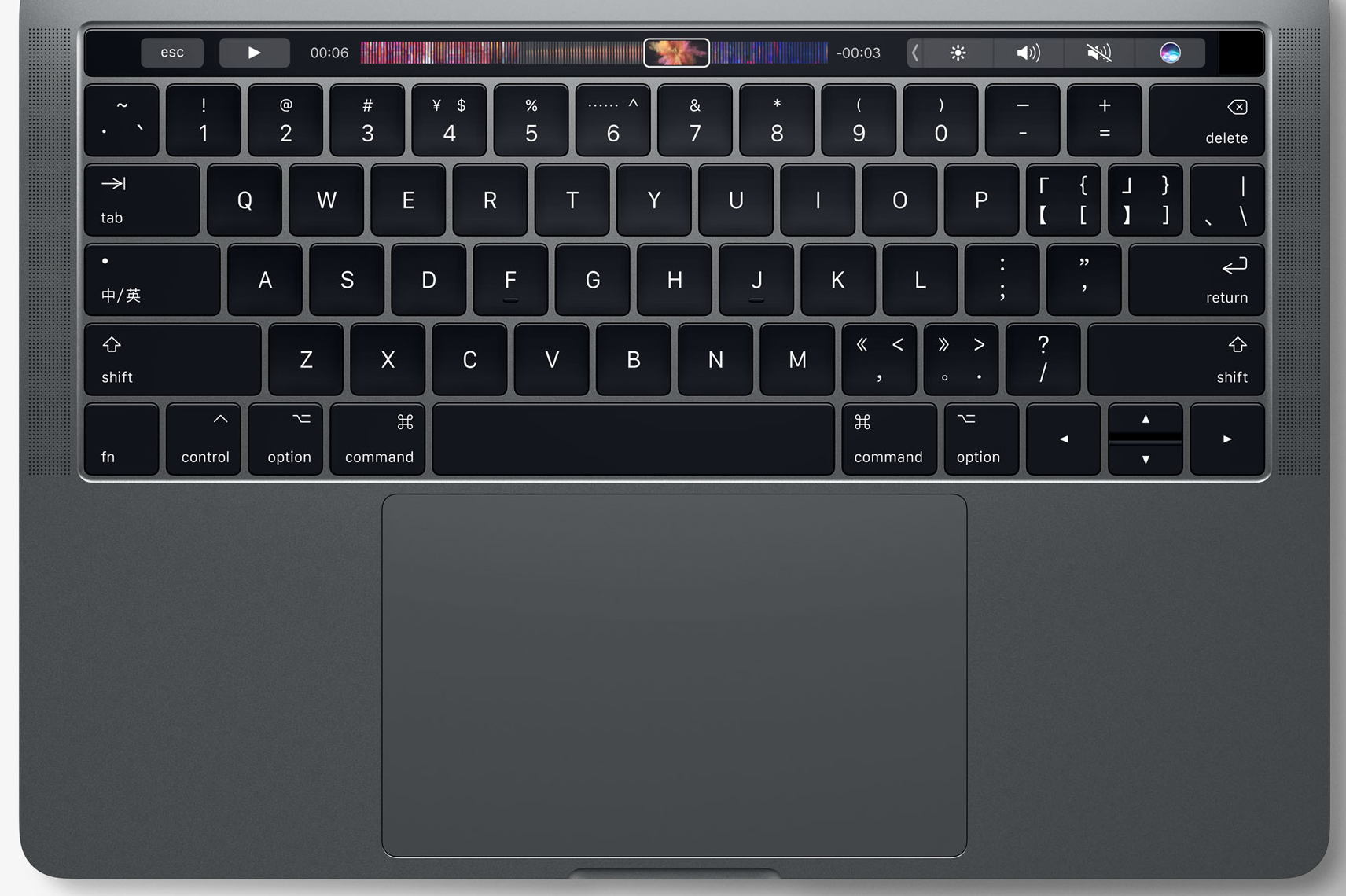 MacBook Pro with Multi-Touch Bar